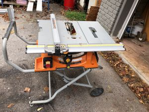 Table saw from Home Depot for Sale in Knoxville, TN