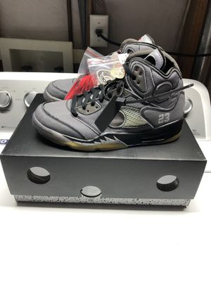 Nike Air Jordan Off White 5 V for Sale in Littleton, CO