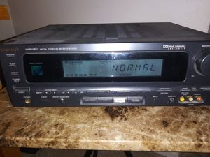 Magnavox MX891 Pro Digital receiver/Amp 250 watts + Subwoofer output/6 speaker ch's/video/3RCA outputs AM/FM stereo w/ 2 ant/perefect recep for Sale in Millcreek, UT