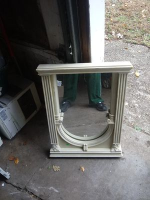 Antique custom made mirror one a kind!! for Sale in Kankakee, IL