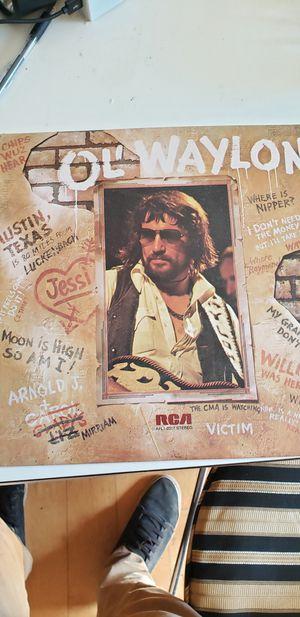 Ol Waylon Vinyl Record for Sale in Greensboro, NC