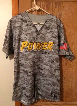 Pittsburgh pirates farm club power baseball jersey baseball for Sale in Northfield, OH