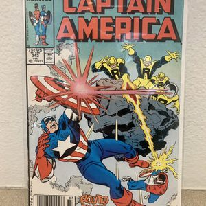 Captain America #343 for Sale in San Diego, CA