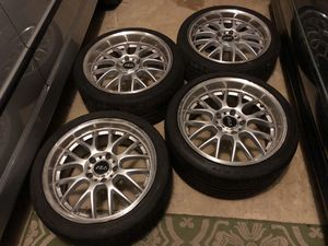 Bmw ASA wheels 18x8 and 18x9 for Sale in Centreville, VA