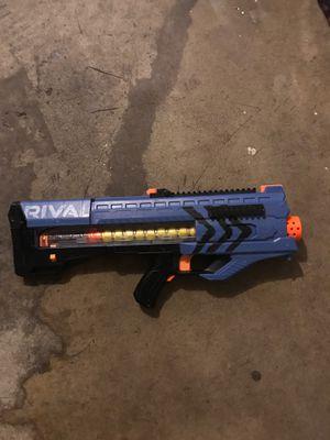 Blue Rival nerf gun for Sale in Sacramento, CA