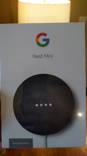 Google Nest Mini. 2nd generation for Sale in Loma Linda, MO
