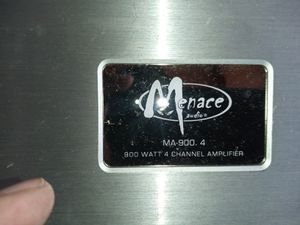 Menace 4channel Amp for Sale in Lancaster, PA