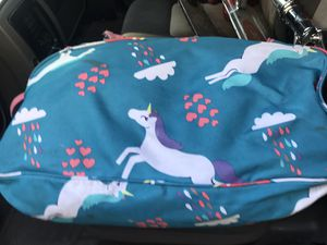 Unicorn tent come carry bag sleeping bag and tent for Sale in Covina, CA