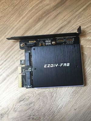 EZDIY-FAB Dual M.2 Adapter for Sale for sale  Los Angeles, CA