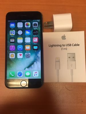Factory unlocked apple iphone 6 64gb , store warranty for Sale in Somerville, MA