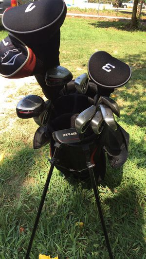 RAM G-Force Men's Complete Golf Set w/ 9 Clubs + Cart Bag for Sale in Durham, NC