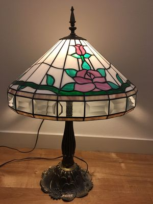 Antique Stained Glass Lamp for Sale in Portland, OR