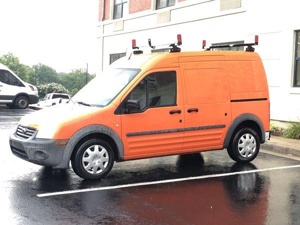 2011 Ford Transit Cargo Van Ladder Racks Work Shelves