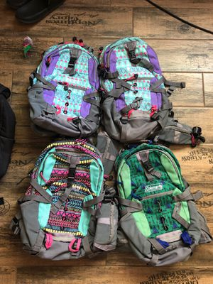 Coleman hiking backpacks 1l hydration pack for Sale in Las Vegas, NV