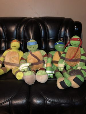 Tmnt Plush Dolls for Sale in Hayward, CA