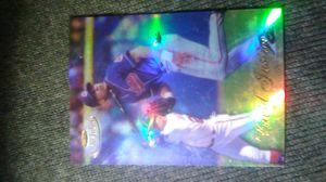 David justice baseball card for Sale in Seattle, WA