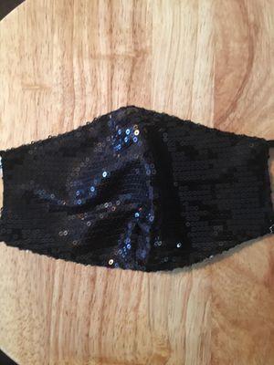 Black sparkle Face masks!! for Sale in Norfolk, VA