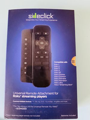 Sideclick universal remote for Roku for Sale in Houston, TX