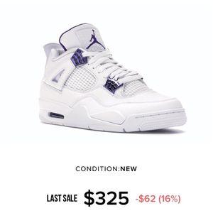 Jordan 4 Retro 'Metallic Purple' for Sale in Vancouver, WA