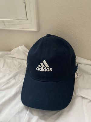 Adidas hat navy blue with white print - authentic for Sale in Costa Mesa, CA