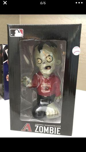 Diamondbacks zombie bobble head for Sale in Gilbert, AZ