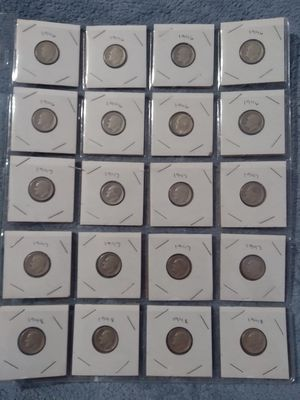 Roosevelt silver dimes for Sale in Appomattox, VA