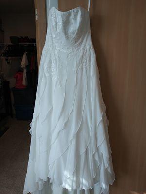 David's Bridal Wedding Gown Wedding Dress for Sale in Tacoma, WA