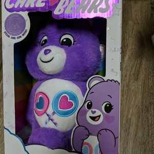Share Bear, Care Bear Purple,Soft Plush for Sale in Grass Valley, CA