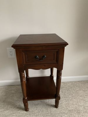 "PRICE REDUCED: 28"" H Night Stand, 41""x29 large Mirror, and 29""x 18 Acrylic Painting for Sale in Wake Forest, NC"