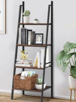 Shelf 4 Tier Bookcase Metal Frame Bookshelf for Sale in Whittier,  CA