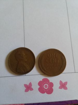 2 of 1926 wheat pennies for Sale in Hot Springs, NC