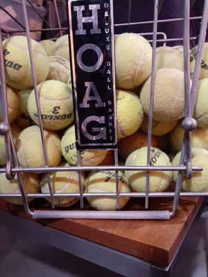 Hoag brand tennis ball basket and ball for Sale in Los Angeles, CA