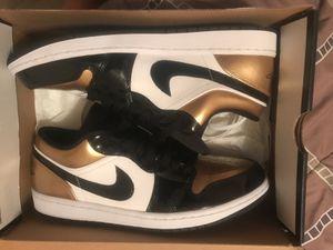 Jordan 1 low gold toe for Sale in Tampa, FL
