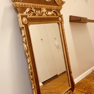 Large Antique Italian Giltwood Mirror  for Sale in Washington, DC