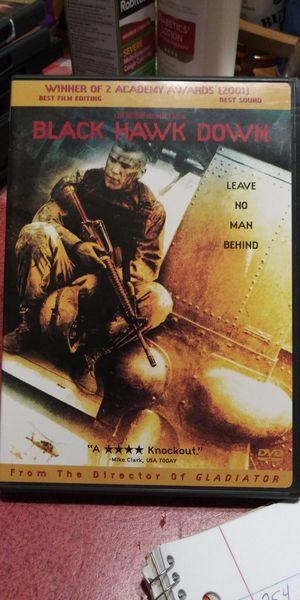 Black Hawk Down dvd for Sale in Brainerd, MN