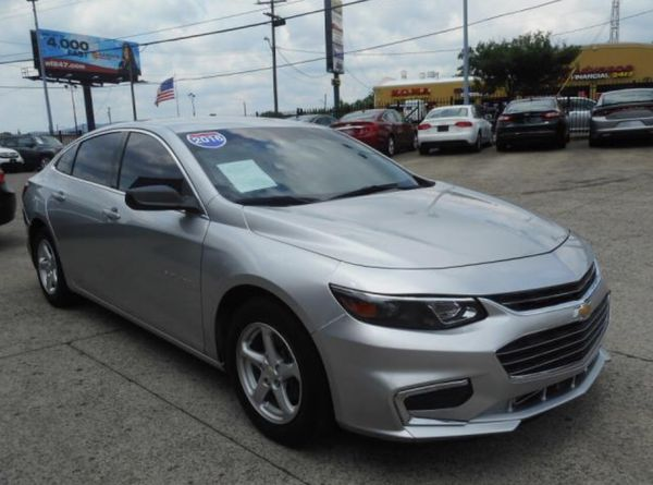 2016 Chevrolet Malibu $2500 Down Payment