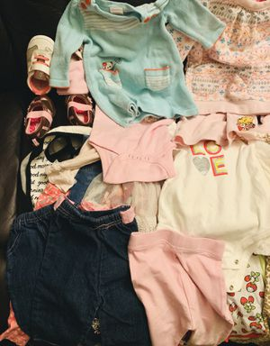 Baby girl clothes bundle for Sale in Montclair, CA