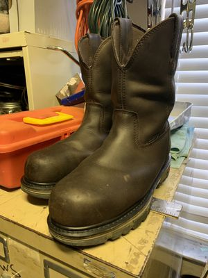 Wolverine pull on work boots for Sale in Miami, FL