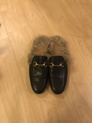 Gucci Men Fur Slides for Sale in Fitchburg, WI