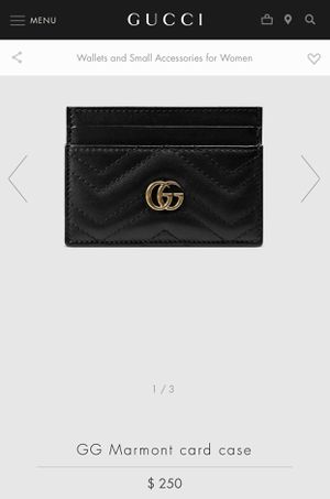 Gucci card holder for Sale in Huntington Park, CA
