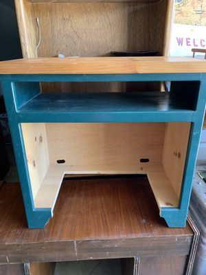 Custom wood table/desk for Sale in Taylor, TX