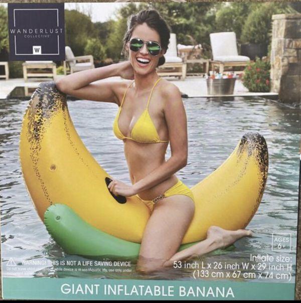 "Giant Inflatable Banana 53"""