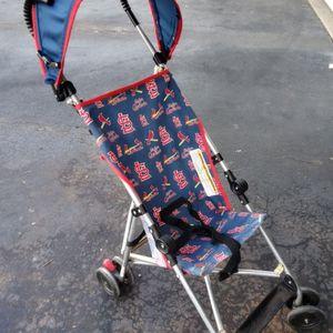 $12 Excellent Condition STL Cardinal Umbrella Stroller for Sale in Ballwin, MO