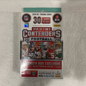 2020 Panini Contenders NFL Football Trading Cards Hanger Box Pack for Sale in Irvine, CA