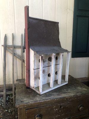 Antique primitive bird house for Sale in Villa Rica, GA