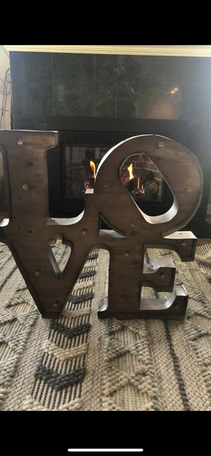 Marquee LOVE sign for Sale in Milwaukie, OR