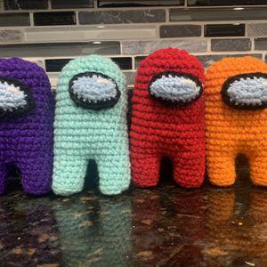 Among Us Crochet Plush for Sale in Atlanta, GA