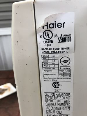 Haier window ac for Sale in Arcola, TX