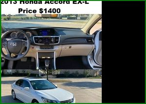 ֆ14OO_2013 Honda Accoard for Sale in Houston, TX