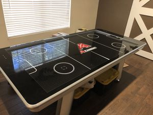 Air Hockey Table + Table Tennis (Ping Pong) Conversion Top for Sale in Phoenix, AZ